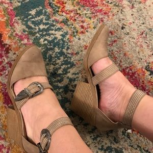 Cupid Shoes - Cupid heel with buckles and back zip.